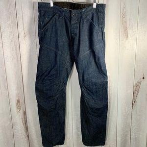G-Star Raw Denim Elwood Custom Straight Jeans
